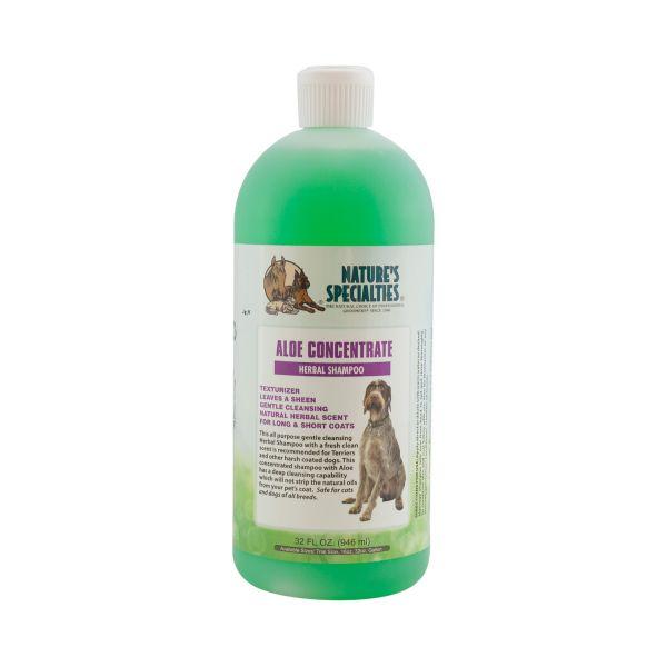 ALOE CONCENTRATE Shampoo für Hunde, Katzen, Welpen und Kleintiere