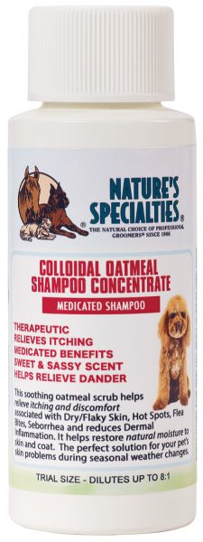 COLLOIDAL OATMEAL Shampoo für Hunde, Katzen, Welpen und Kleintiere