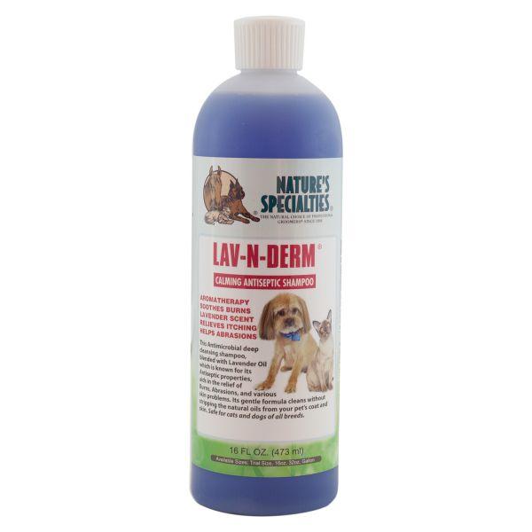 LAV-N-DERM® Shampoo für Hunde, Katzen, Welpen und Kleintiere