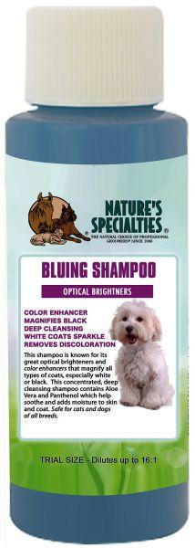 ALOE BLUING SHAMPOO MIT OPTISCHEM AUFHELLER  für Hunde, Katzen, Welpen und Kleintiere
