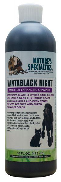 VANTABLACK NIGHT FARB-INTENSIVIERUNGS SHAMPOO für Hunde, Katzen, Welpen und Kleintiere