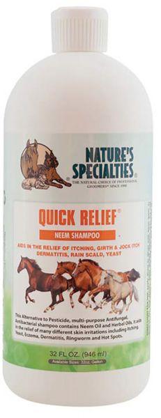 QUICK RELIEF® NEEM Shampoo für Pferde