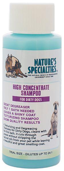 HIGH CONCENTRATE DIRTY DOG SHAMPOO für Hunde, Katzen, Welpen und Kleintiere