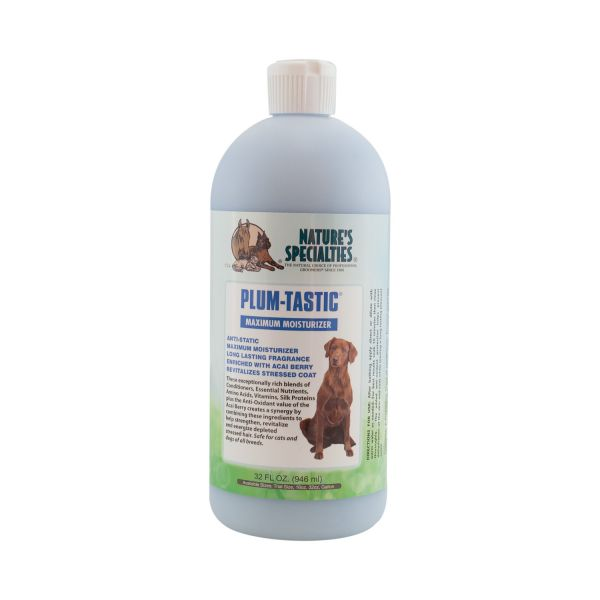 PLUM-TASTIC FEUCHTIGKEITS-SPÜLUNG für Hunde, Katzen, Welpen und Kleintiere