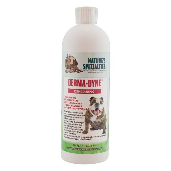 DERMA-DYNE® Jod Shampoo für Hunde, Katzen, Welpen und Kleintiere