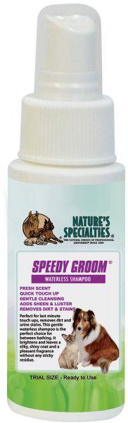 SPEEDY GROOM® TROCKENSHAMPOO für Hunde, Katzen, Welpen und Kleintiere