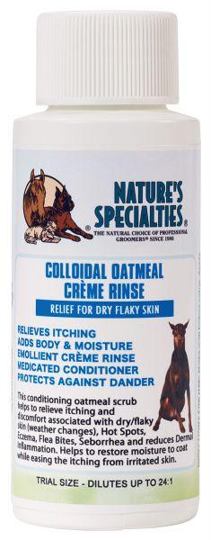 COLLOIDAL OATMEAL CREME SPÜLUNG für Hunde, Katzen, Welpen und Kleintiere
