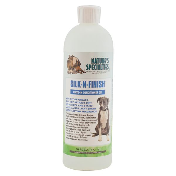 SILK N FINISH® GEL für Hunde, Katzen, Welpen und Kleintiere