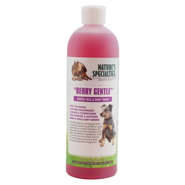 BERRY GENTLE® Tränenfreies Shampoo für Hunde, Katzen, Welpen und Kleintiere