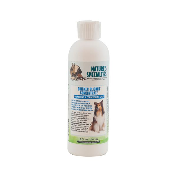 QUICKER SLICKER CONCENTRATE ENTFILZUNGSSPRAY für Hunde, Katzen, Welpen und Kleintiere