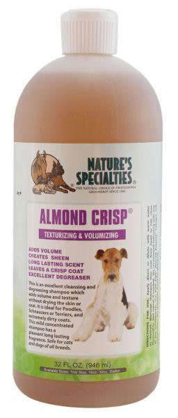 Nature's Specialties ALMOND CRISP® Shampoo für Hunde, Katzen, Welpen und Kleintiere