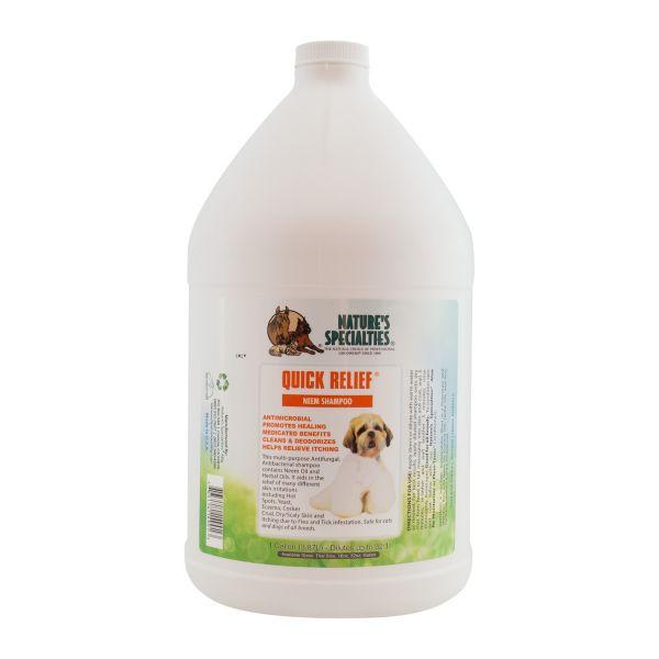 QUICK RELIEF® NEEM Shampoo für Hunde, Katzen, Welpen und Kleintiere