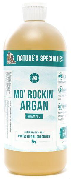 Mo' Rockin' Argan mit Argan ÖL - Shampoo für Hunde