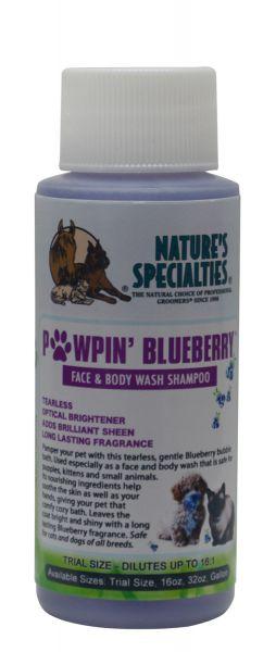PAWPIN BLUEBERRY® Tränenfreies Shampoo für Hunde, Katzen, Welpen und Kleintiere