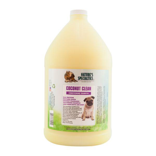 COCONUT CLEAN Shampoo für Hunde, Katzen, Welpen und Kleintiere