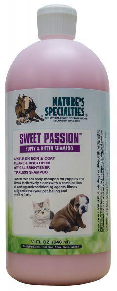 SWEET PASSION™ Welpenshampoo für Hunde, Katzen, Welpen und Kleintiere