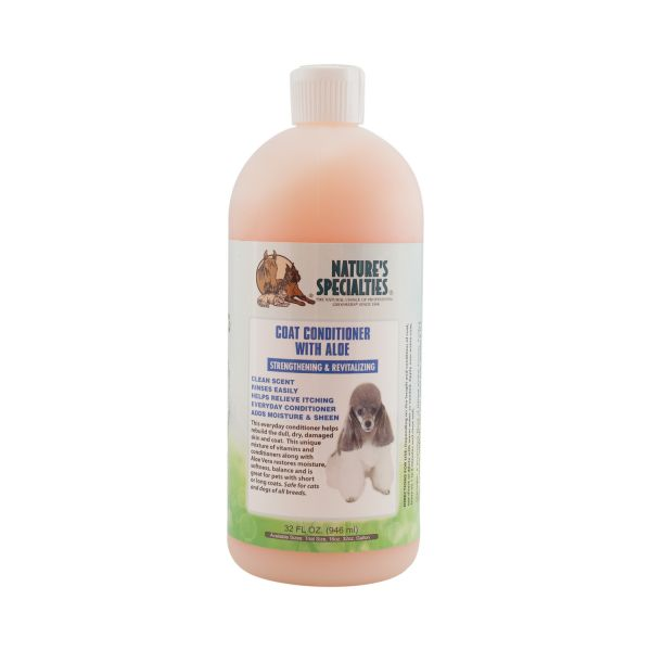 COAT CONDITIONER - Spülung mit Aloe für Hunde, Katzen, Welpen und Kleintiere