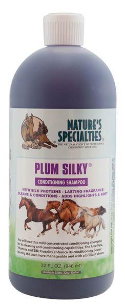 PLUM SILKY SHAMPOO & CONDITIONER für Pferde