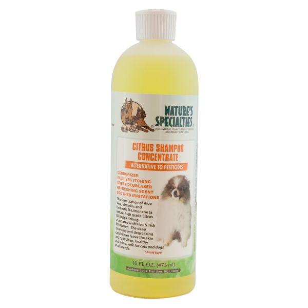 CITRUS Shampoo für Hunde, Katzen, Welpen und Kleintiere
