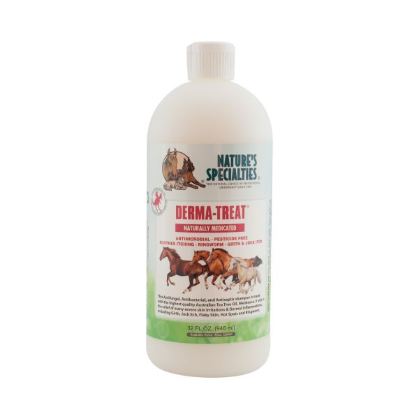 DERMA-TREAT  Teebaumöl Melaleuca Shampoo für Pferde