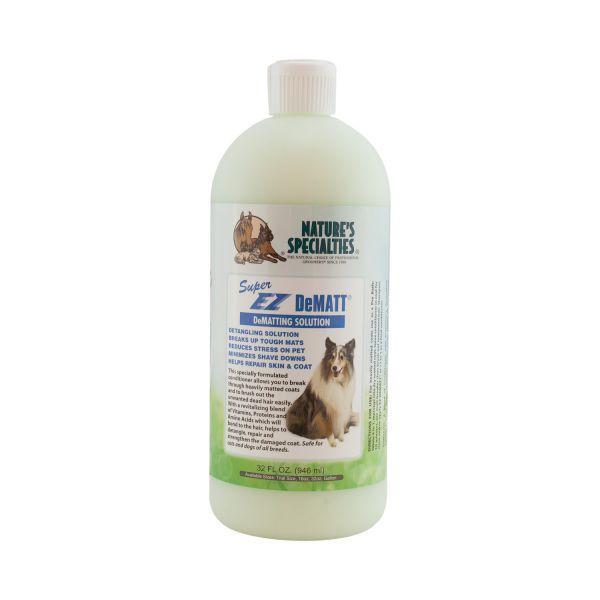 Super DeMATT® CONDITIONER - Spülung für Hunde, Katzen, Welpen und Kleintiere
